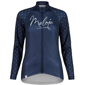 Maloja ArgoviaM. 1/1 Maillot de cyclisme manches longues Femme, night sky